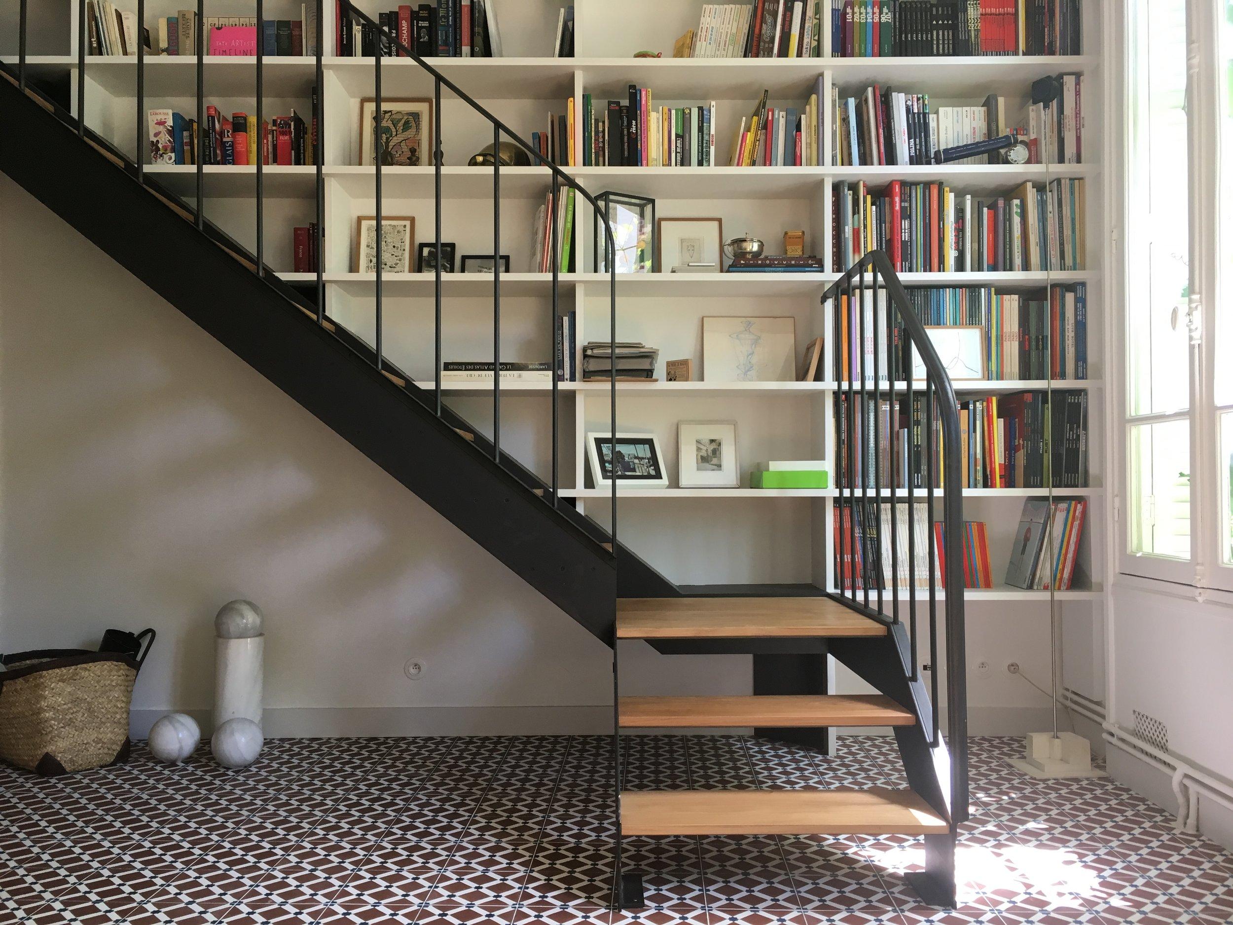 MAISON RONDEAUX - Rénovation complète d'une maison de ville180m2 | 75020 | Livré en avril 2018
