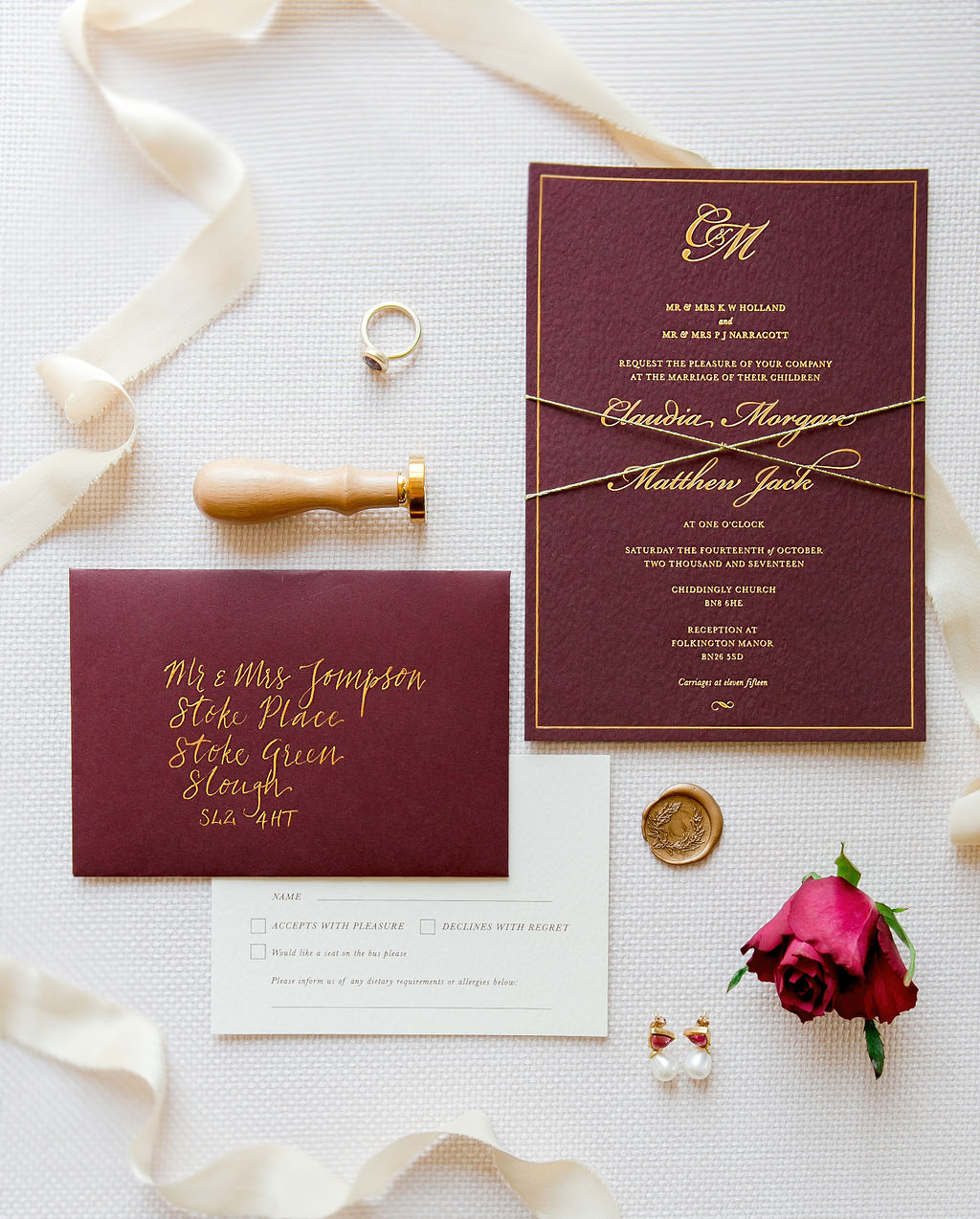 stoke_place_luxury_wedding_stationery_deep_red_gold_foil_ink_wax_seal_calligraphy_12.jpg