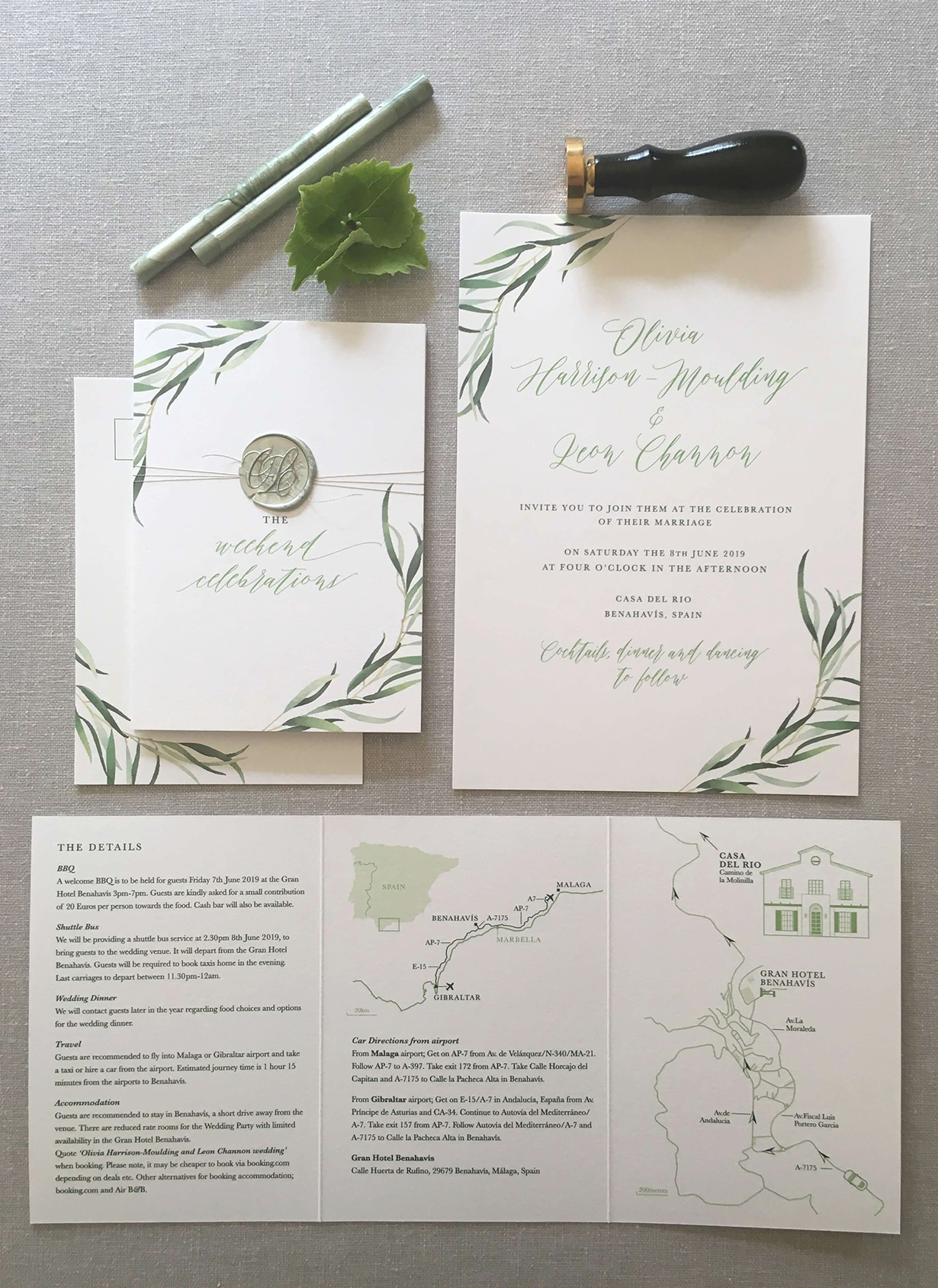 casa_del_rio_botanical_green_wax_seal_calligraphy_wedding_stationery_06.jpg