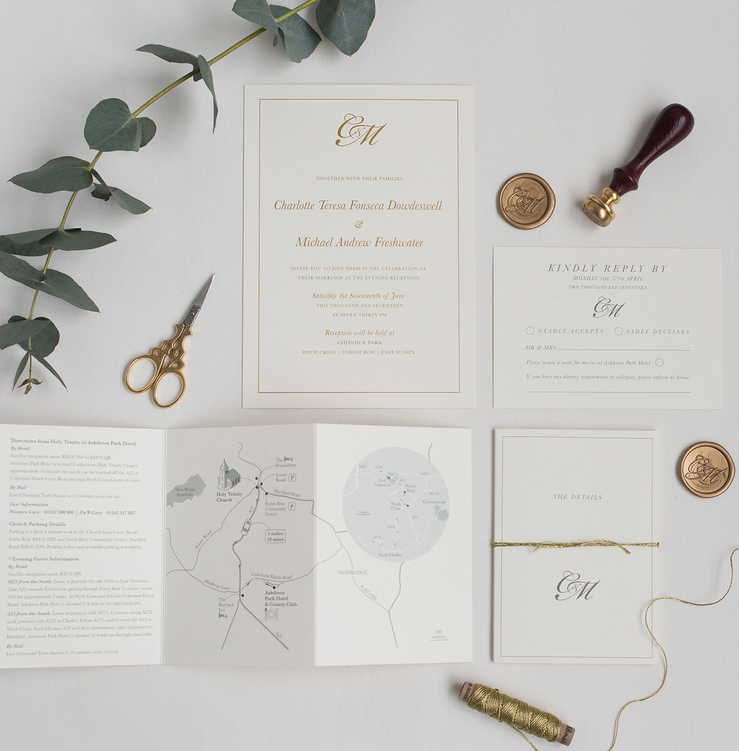 05-classic-cream-gold-wedding-invite-rsvp-info-card-wax-seal.jpg