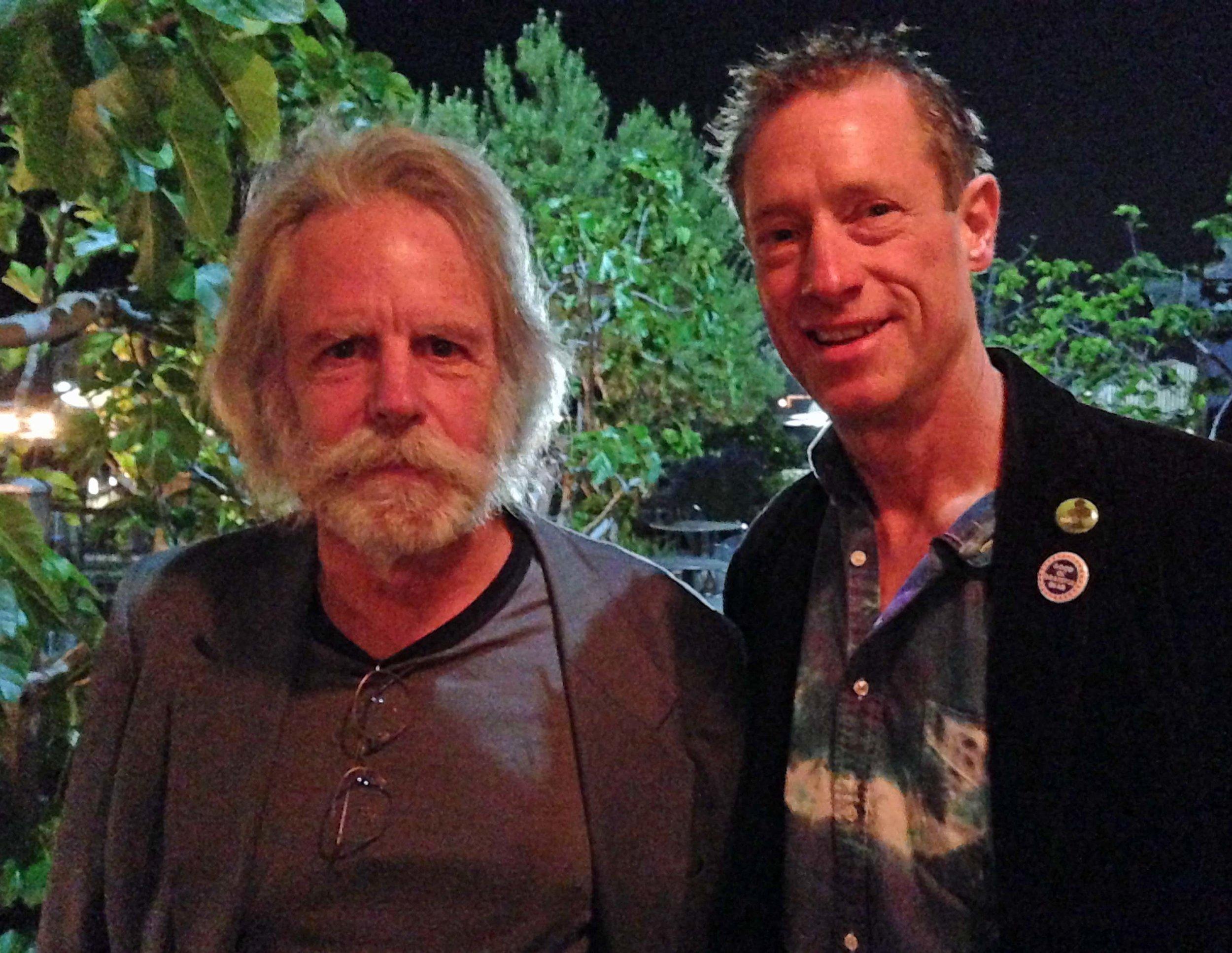 Bob Weir and David Meerman Scott
