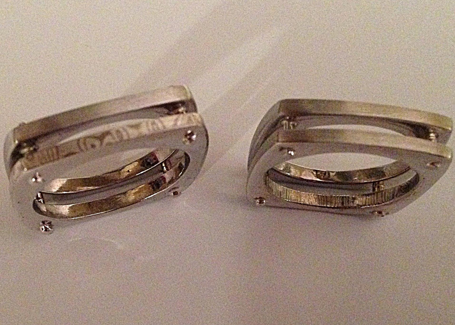 Mokume-Gane wedding rings
