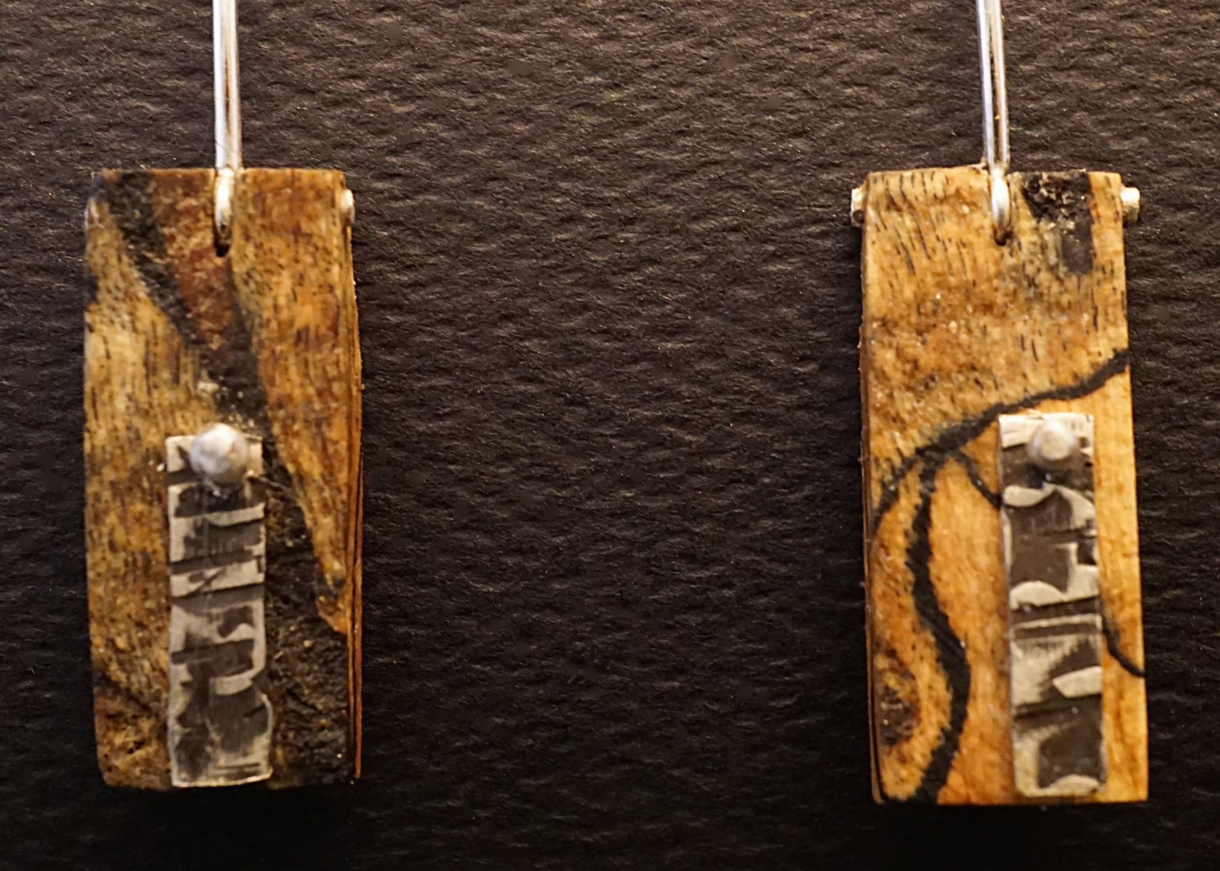 Northern maple earrings