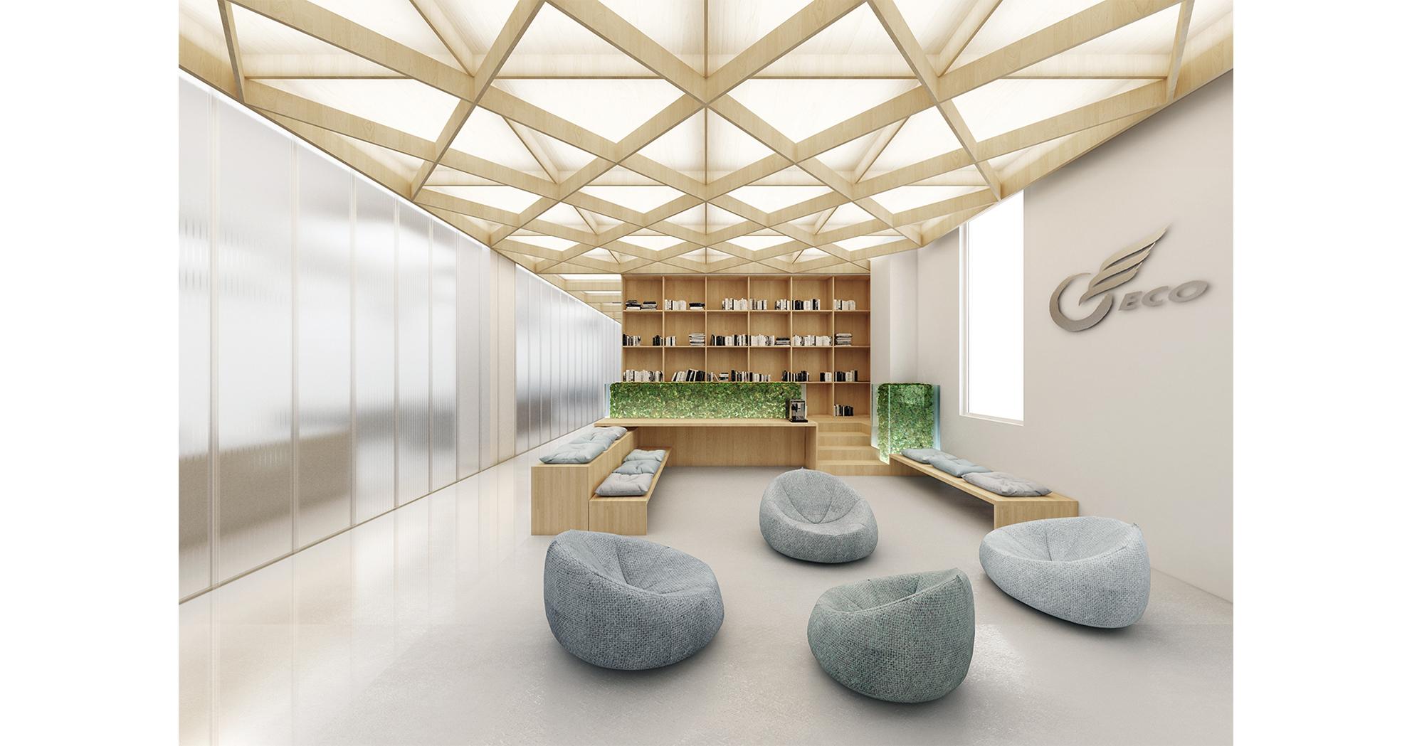 Second Floor - Common Space