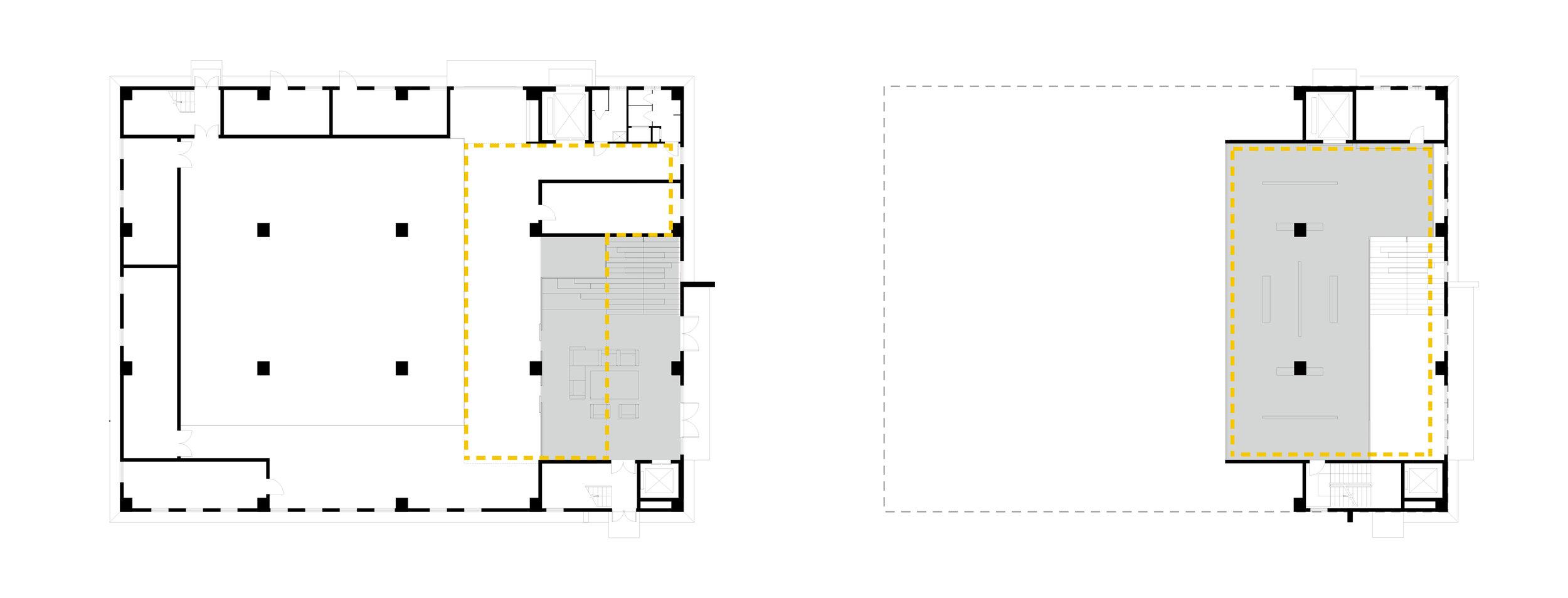 Ground Floor - Mezzanine