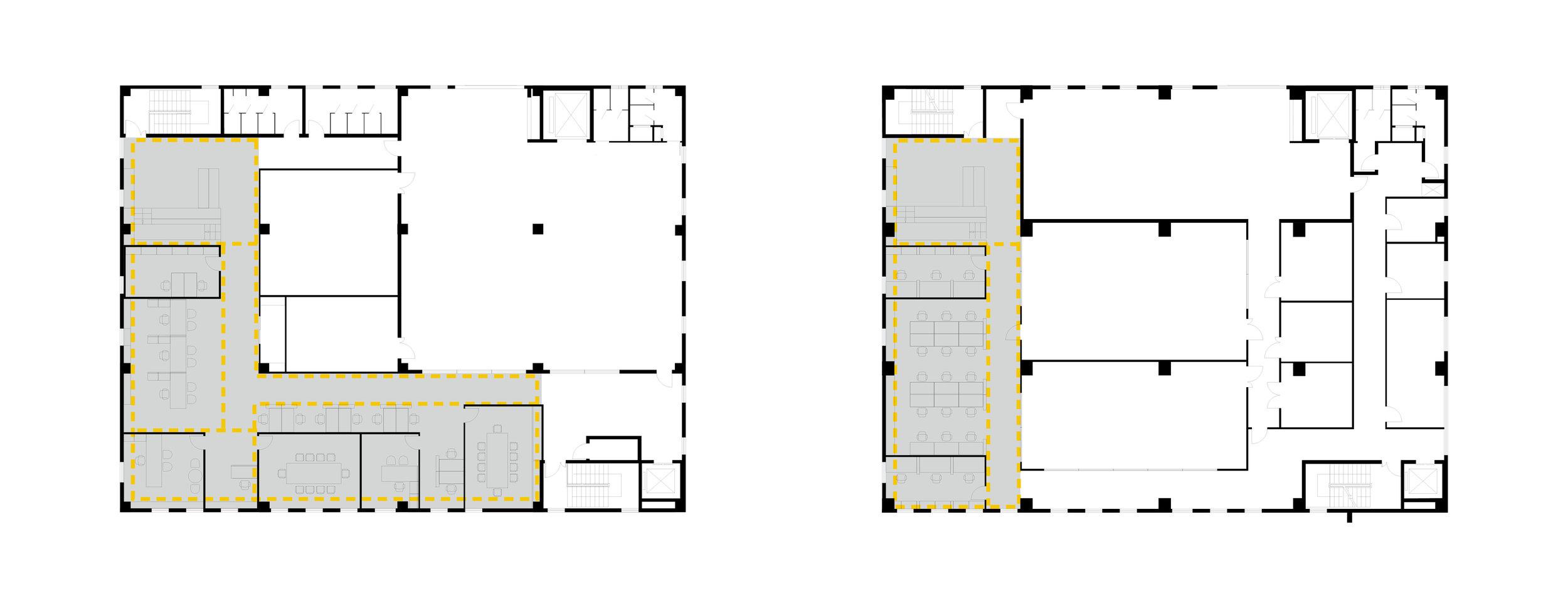 First Floor - Second Floor