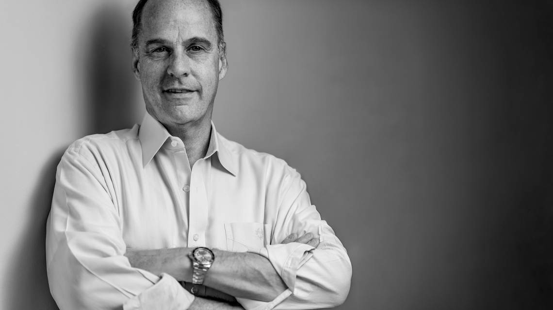 Ted Farnswoth, the Miami-based CEO of the parent company of MoviePass, has been guiding the hot app through its ups and downs.Nick Garcia