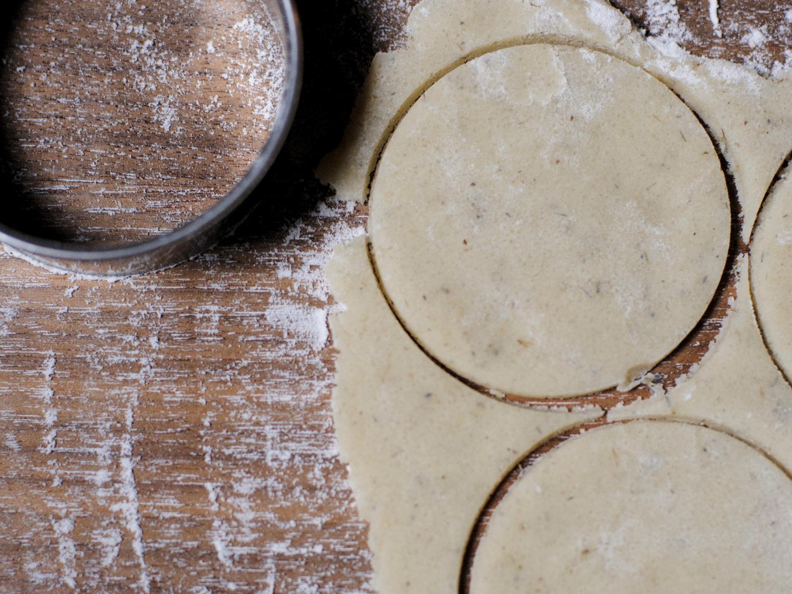 Lavender Shortbread -