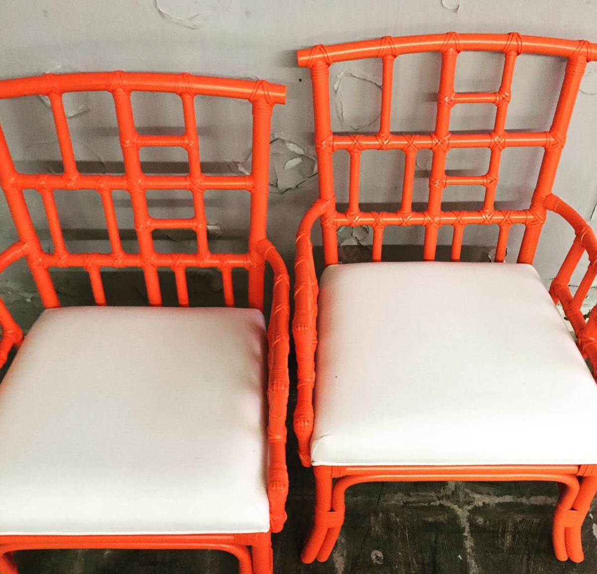 Orange Occasional Chairs