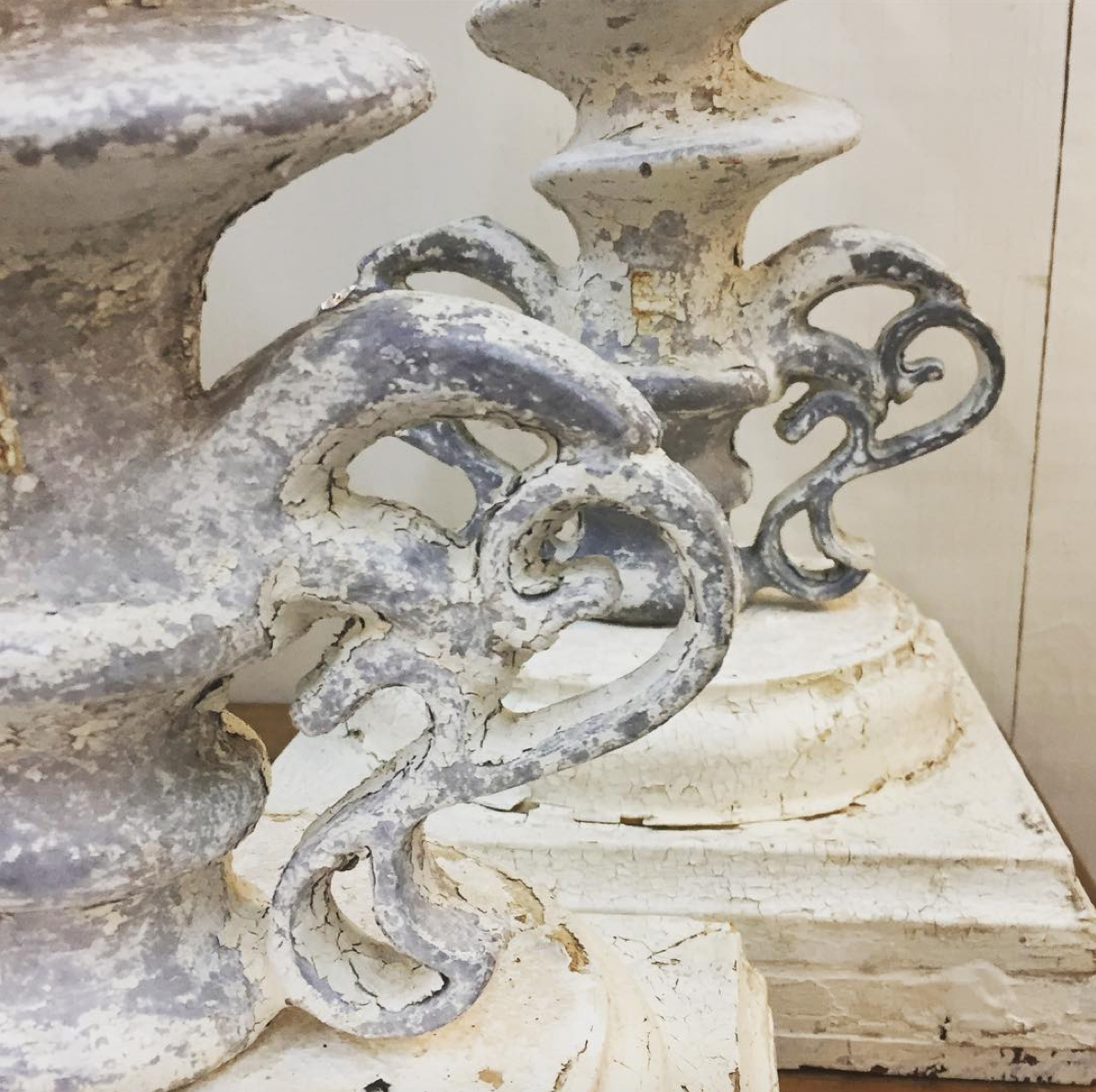 18th century gate posts from France