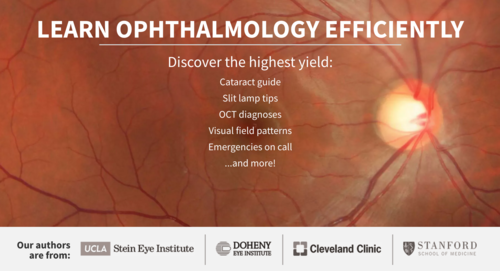 Pre-Ophtho by/for medical students interested in ophthalmology