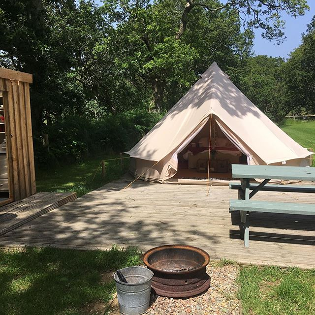 Availability this week ... Monday to Friday. #glamping #dyfi #cymru #wales #outdoors #belltent #outdoordining #firepit