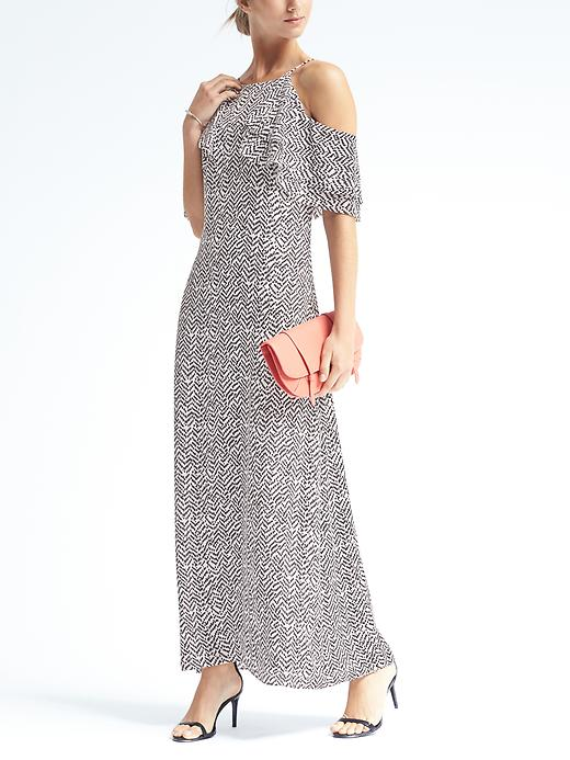 Banana Republic  £110. The dress also comes in electric blue, which is even better!Style with a heel or flats and add stacked bangles and layered necklaces.