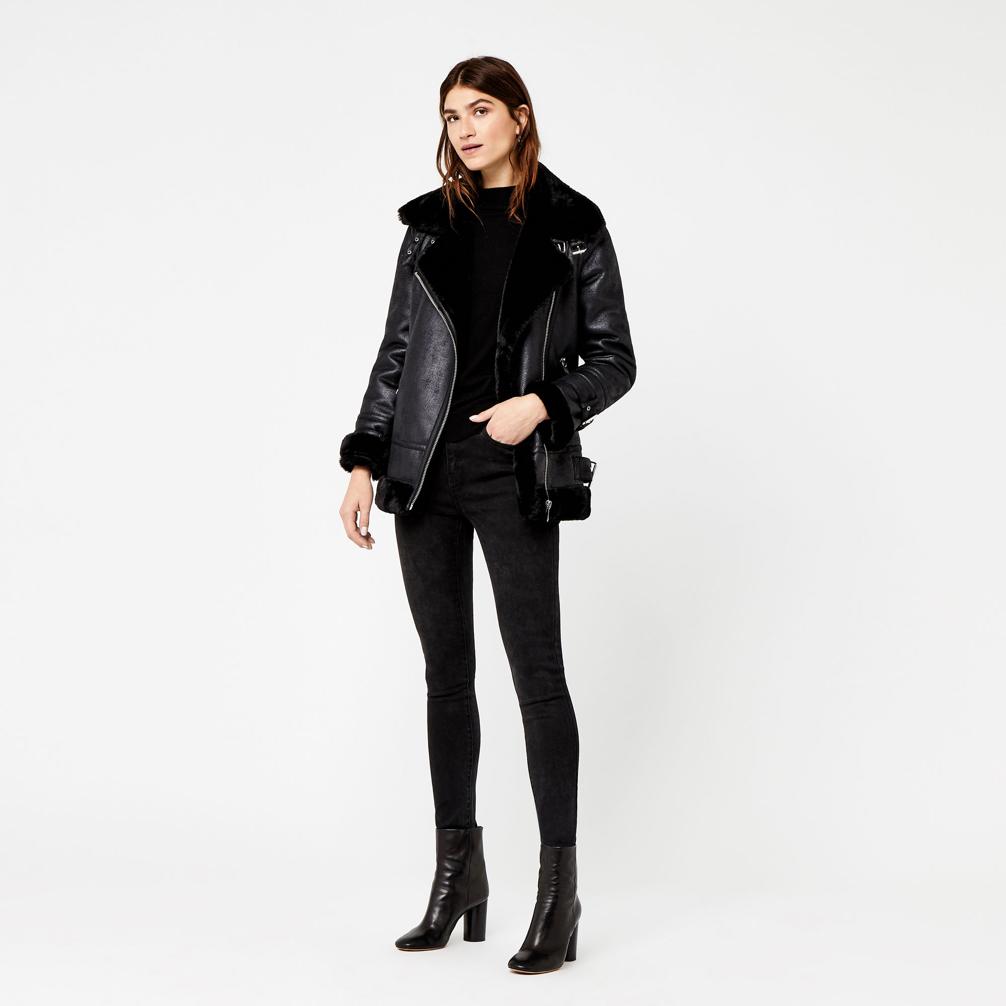 Warehouse  £89.00 Faux Shearling jacket, one of the best on the high street i think. It feels amazing and is incredible value. You need to grab this before it goes,