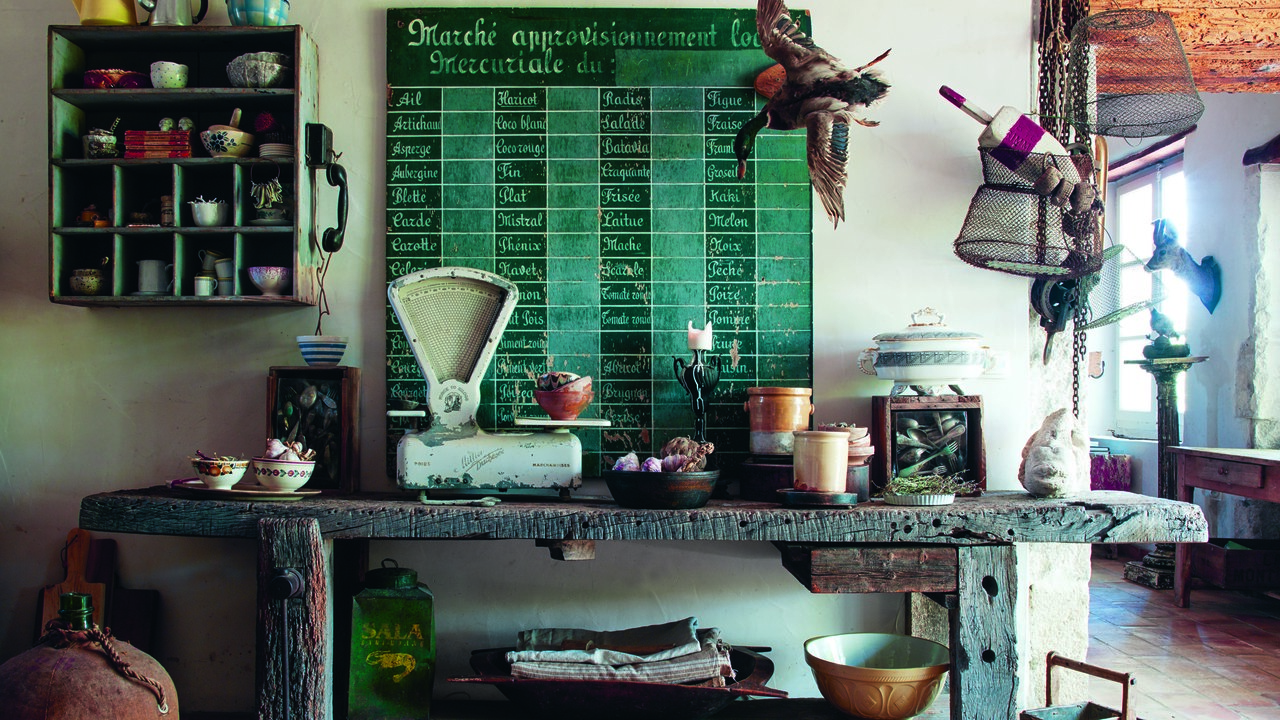 Architectural Digest The Foraged Home