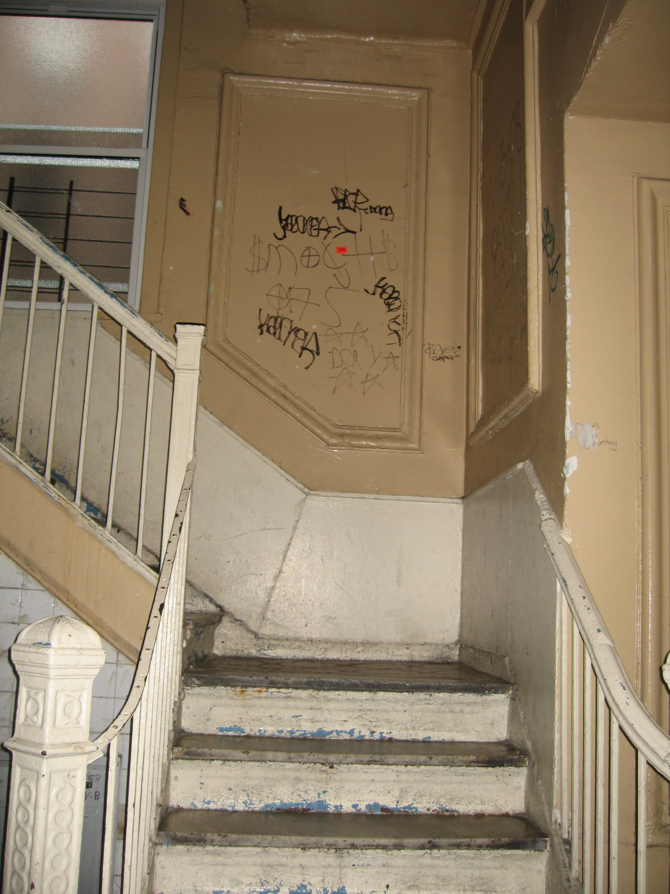 OLR ECW- Hallway steps BEFORE.JPG