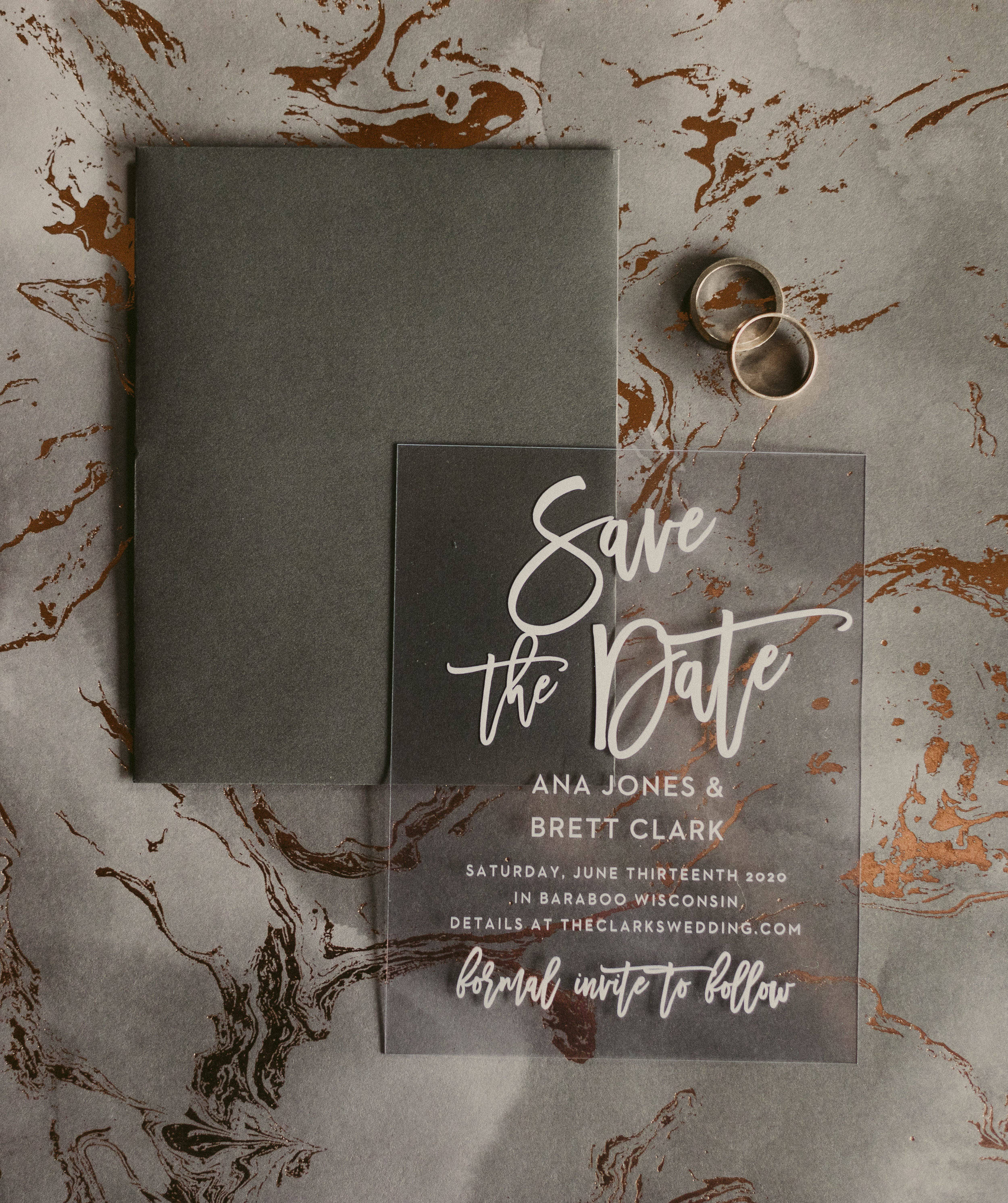 Elegant Save The Dates And Wedding Stationary From Basic