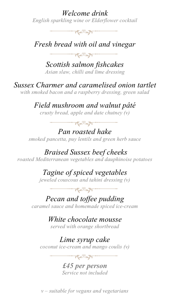 Gastronome's Dinner - May 2018