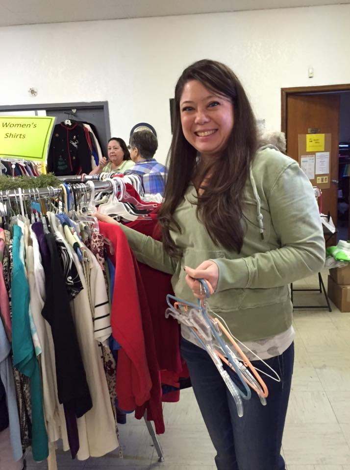 clothing closet lady volunteer.jpg