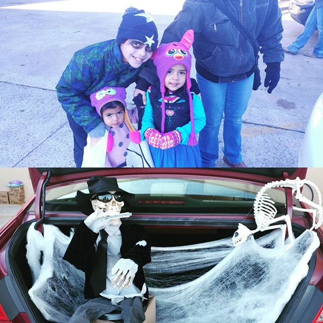 Trunk or Treaters had lots of fun visiting decorated cars and getting candy!