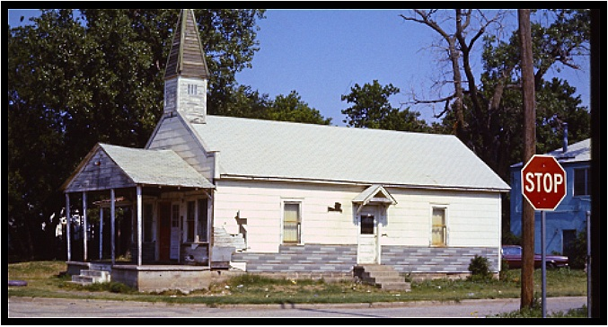 The First Street Methodist Church—one of the earliest locations of the emerging urban ministry in Oklahoma City.