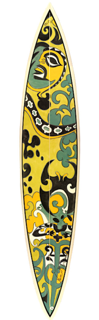 Kim-McDonald-Artist---Oceania-Series-Surf-Board---Green-Jungle-Gardens.jpg