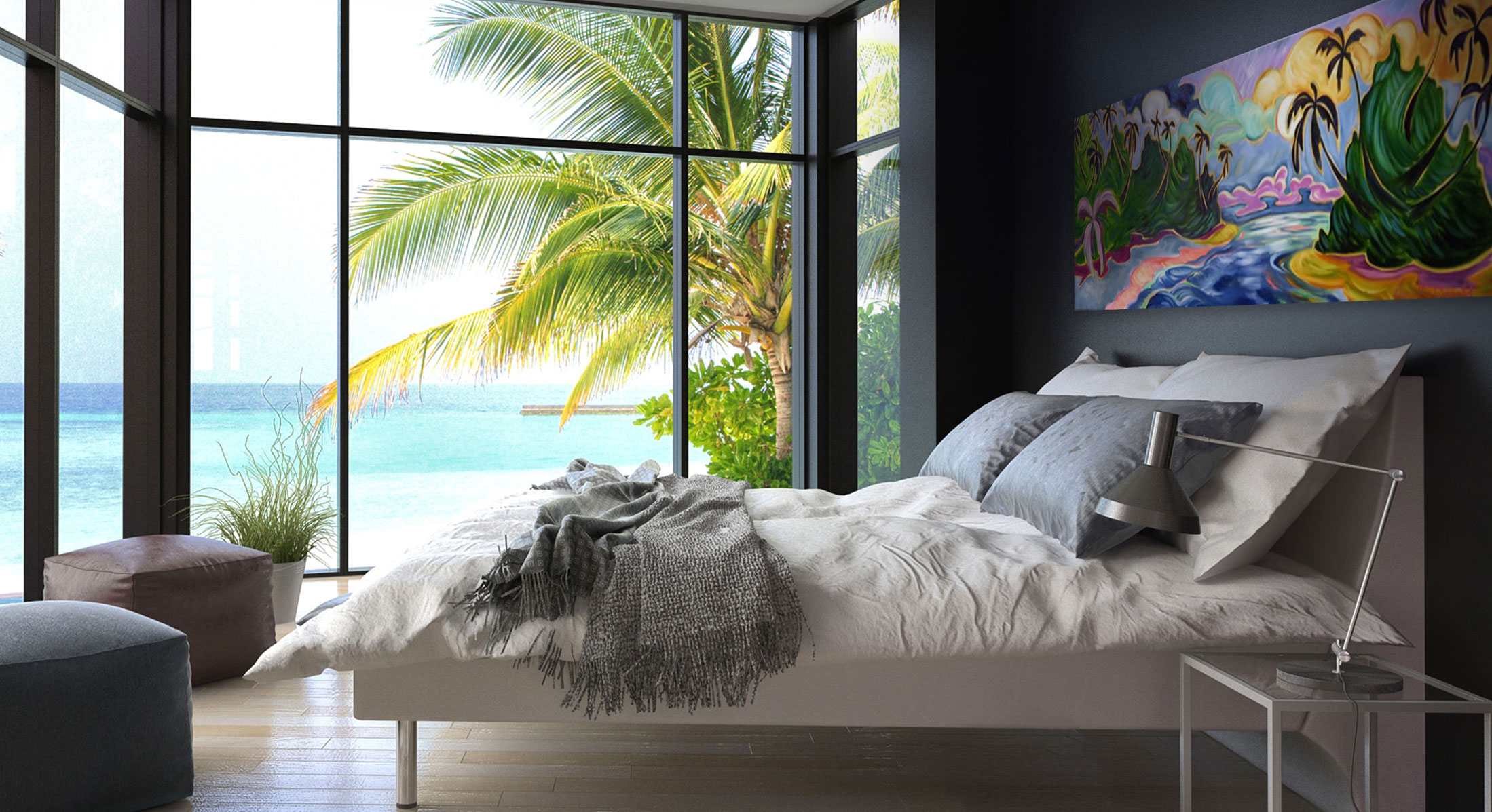 Kim-McDonald-Artist---Painting-in-Maui-Bedroom (1).jpg