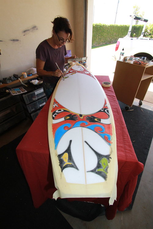 Kim Painting Board For Maldives