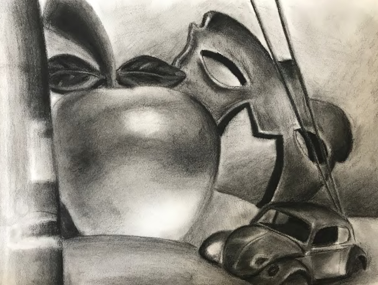 Student Work #9: Still Life: Scale Relationships