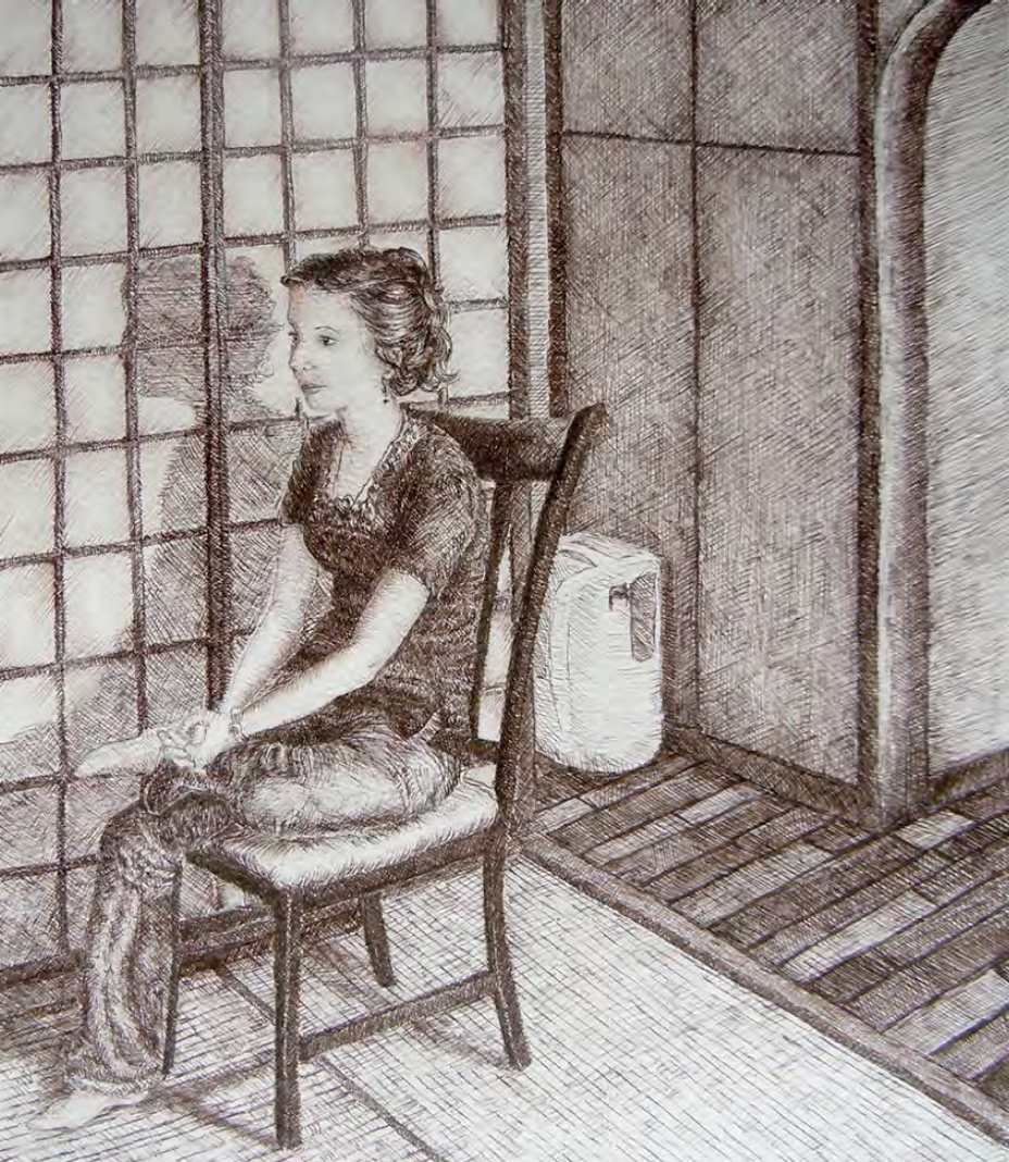 Student Work #14: In the Tatami Room