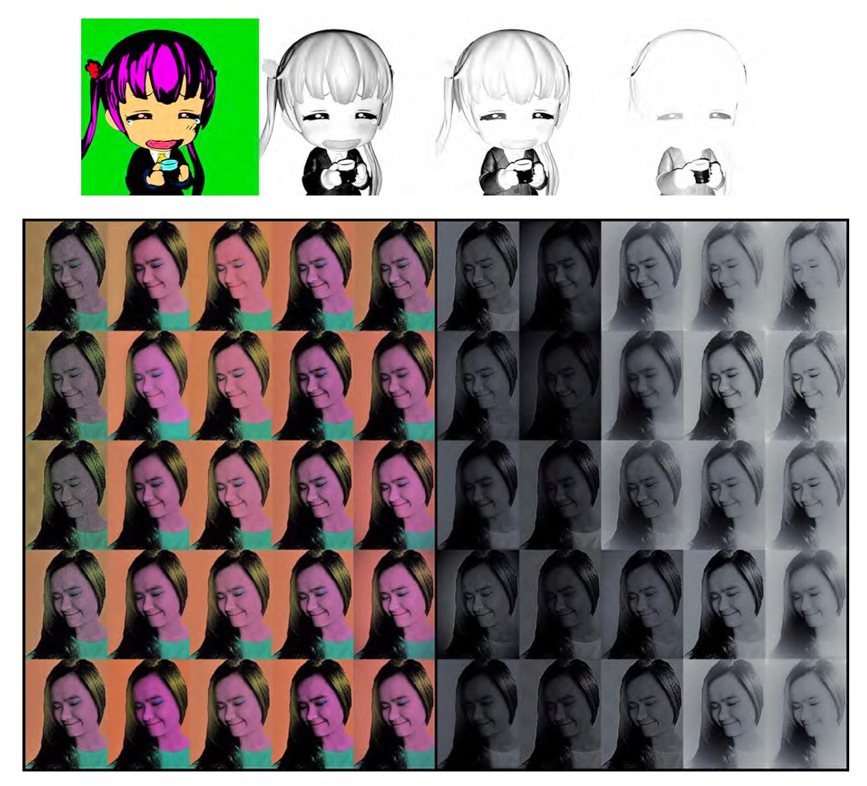 Student Works #18: Interpretations of Warhol's Marilyn Monroe Diptych