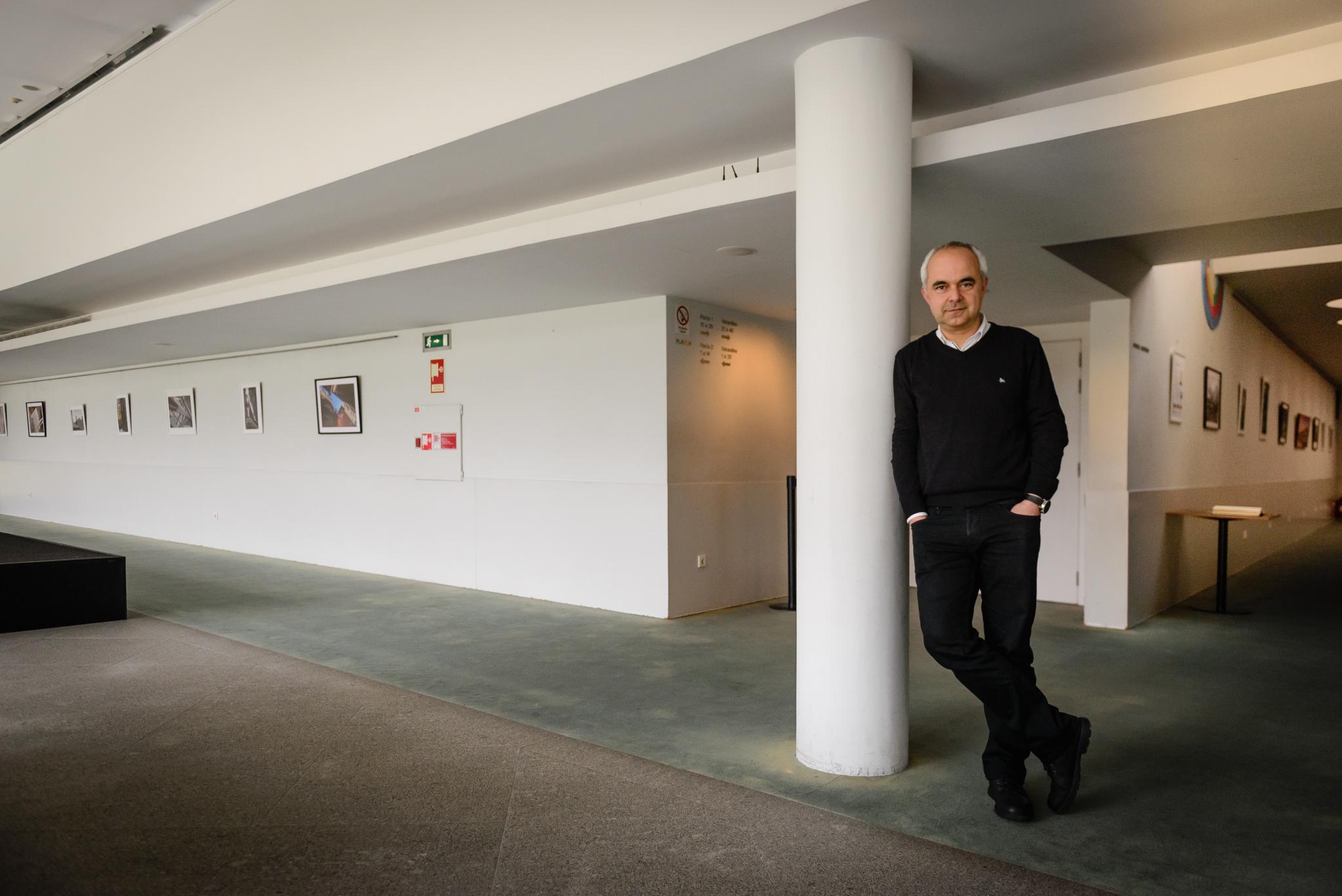 """No dia da inauguração da exposição de fotografia """"O Meu Porto"""" na Casa das Artes de Famalicão. (fotografia: Ricardo Couto)"""