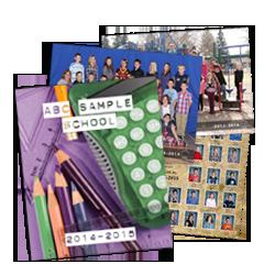 Produits Additionelles  Plusieurs produits aditionelles sontdisponibles avec le style du studio et les preuves du jour de photos scolaires: Image de la classe, composite de la classe, et livre de mémoir.