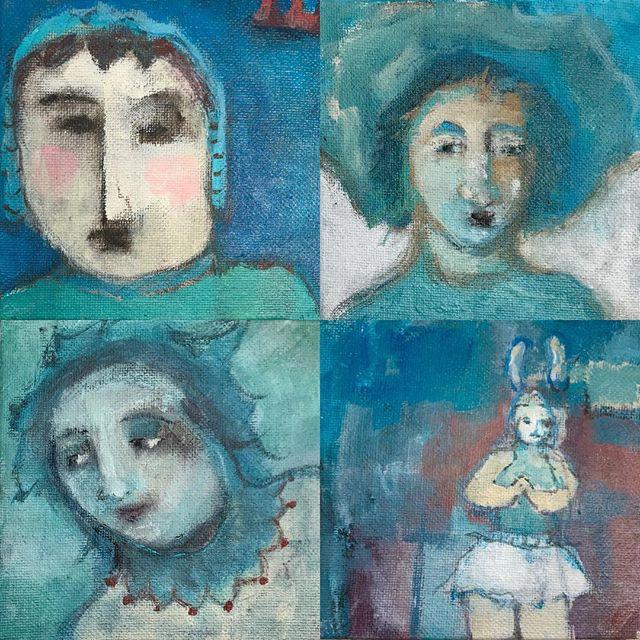 More little paintings #katiekendrick #katiekendrickart