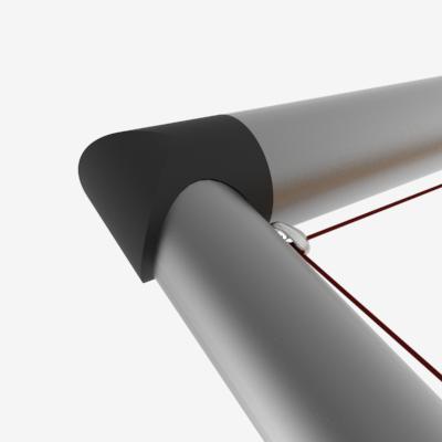 Vingene er 6061 aluminiumsrør med forsterkede plast koblinger.