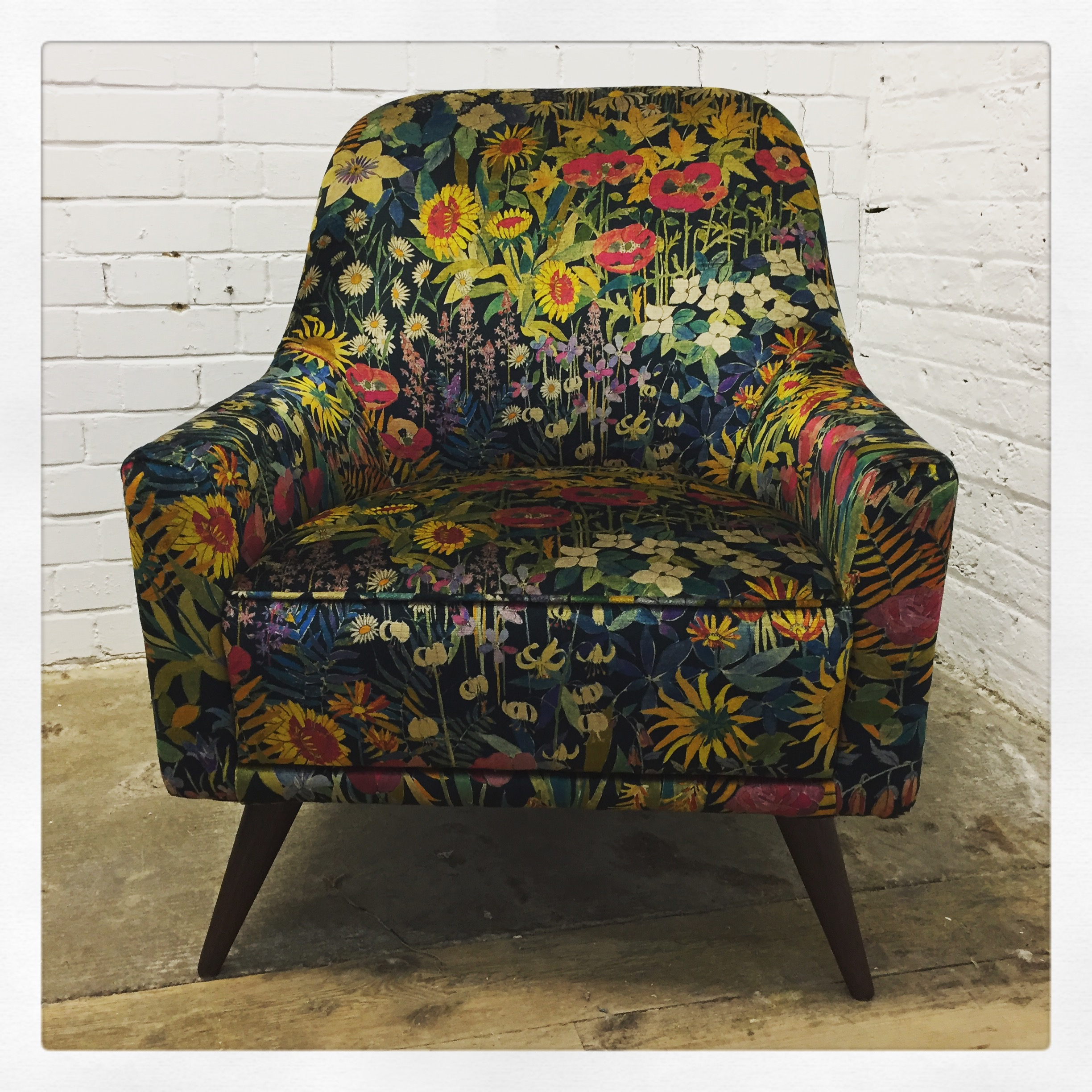 Statement Armchair in Liberty Fabric