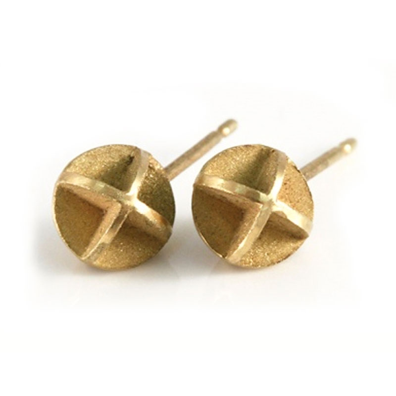 18ct gold earrings - also in silver