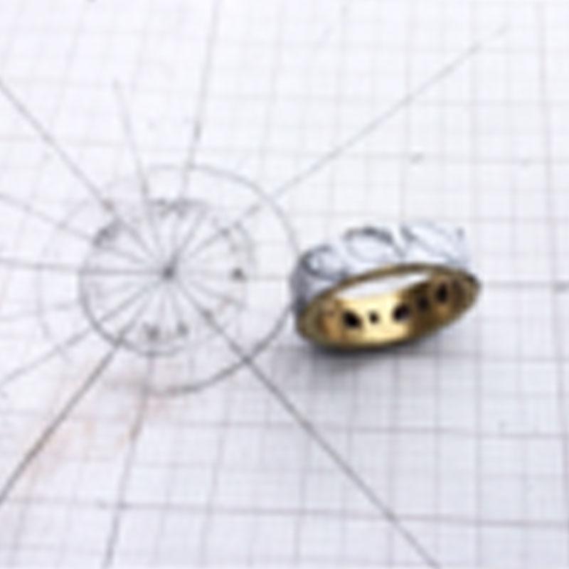 Woldstone Marquis White diamond ring