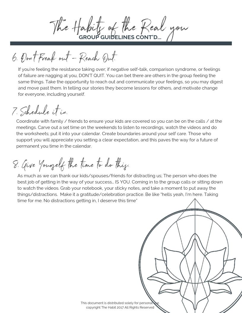 Kelowna Health Coaching - The Habit