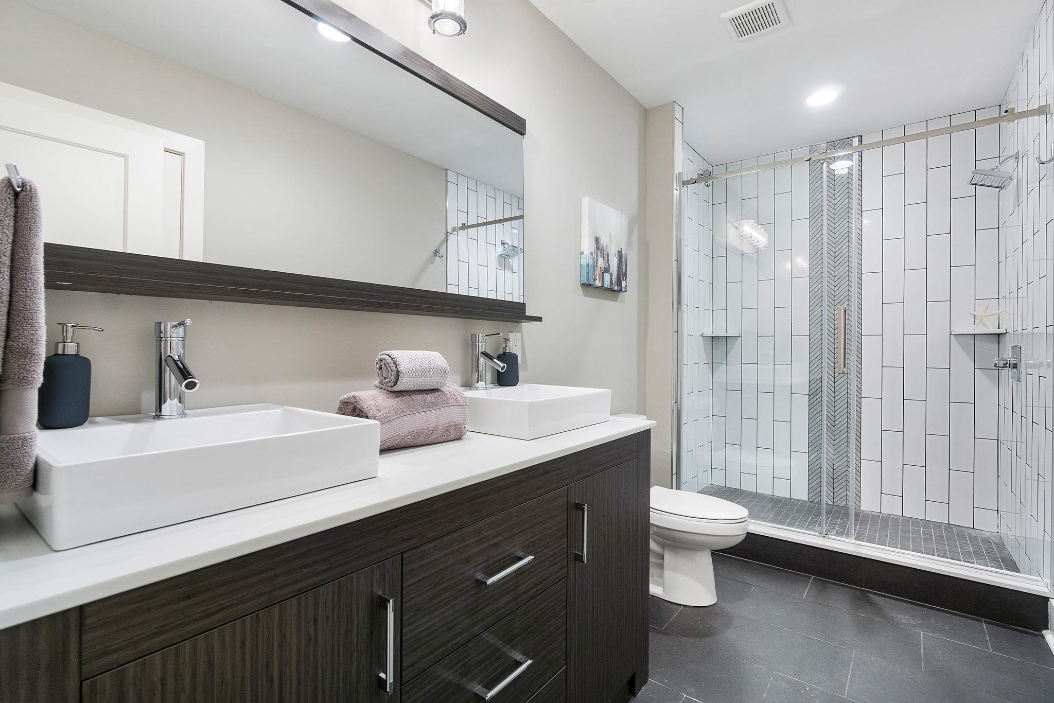 Bathroom at Beautiful 819 N Uber St