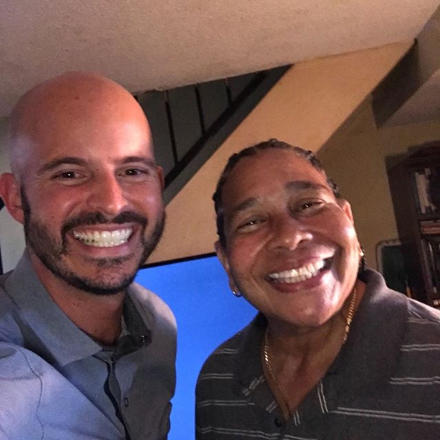 Who can smile bigger? Just took care of my newest client and had a great time.  Super cool lady.  Plus I made $658.80 in 20 minutes so thats cool.