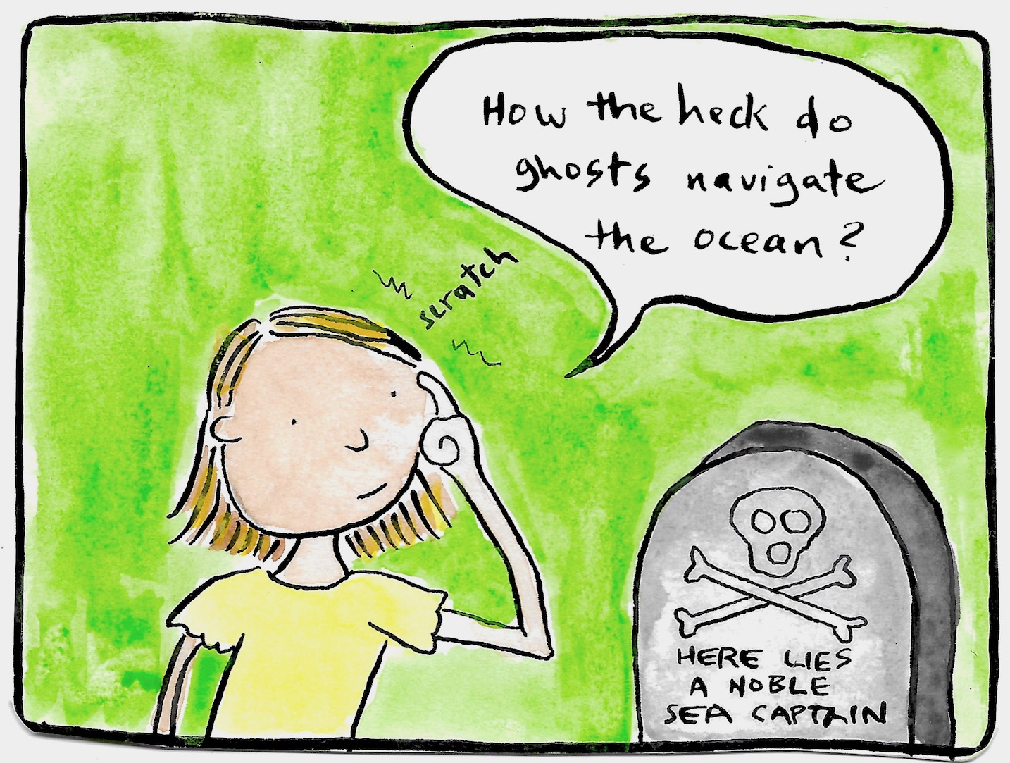 Sea Captain Tombstone
