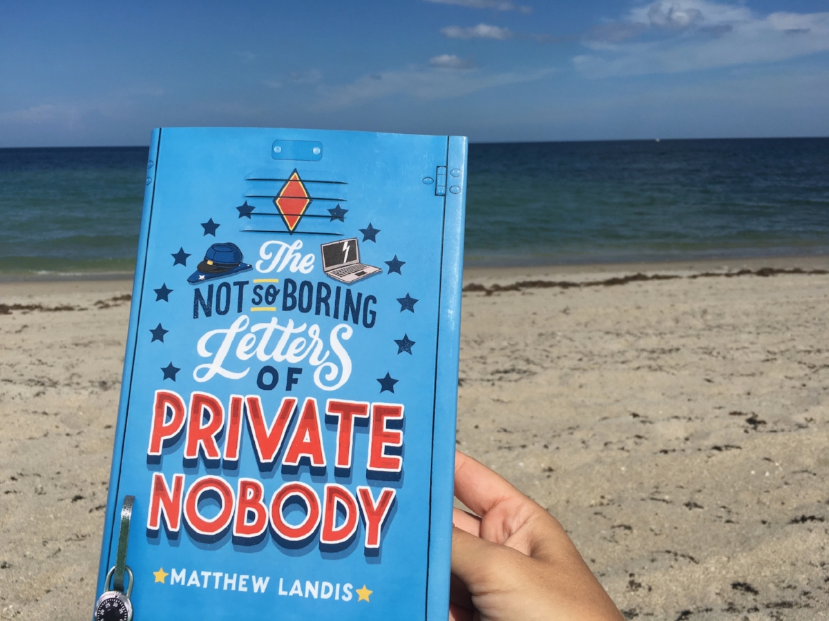Matthew Landis is a young adult fiction author based in Pennsylvania. He is the author of  The Not-So-Boring Letters of Private Nobody .