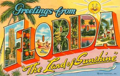 Sunny Greetings Florida