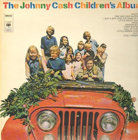 We can't believe Johnny Cash had a children's album all these years, and we had no idea.