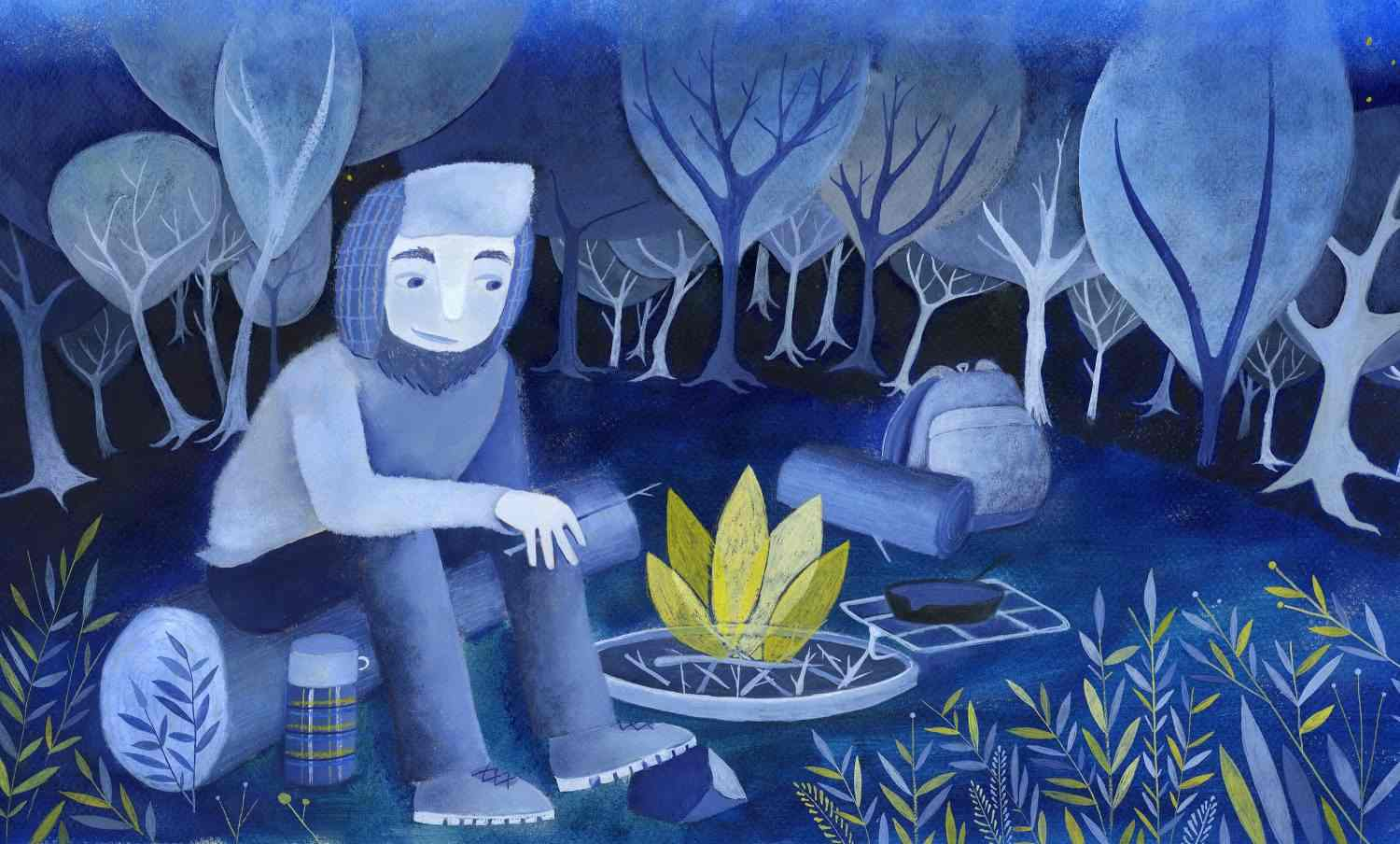 Campfire  © 2018 Aimee Hagerty Johnson