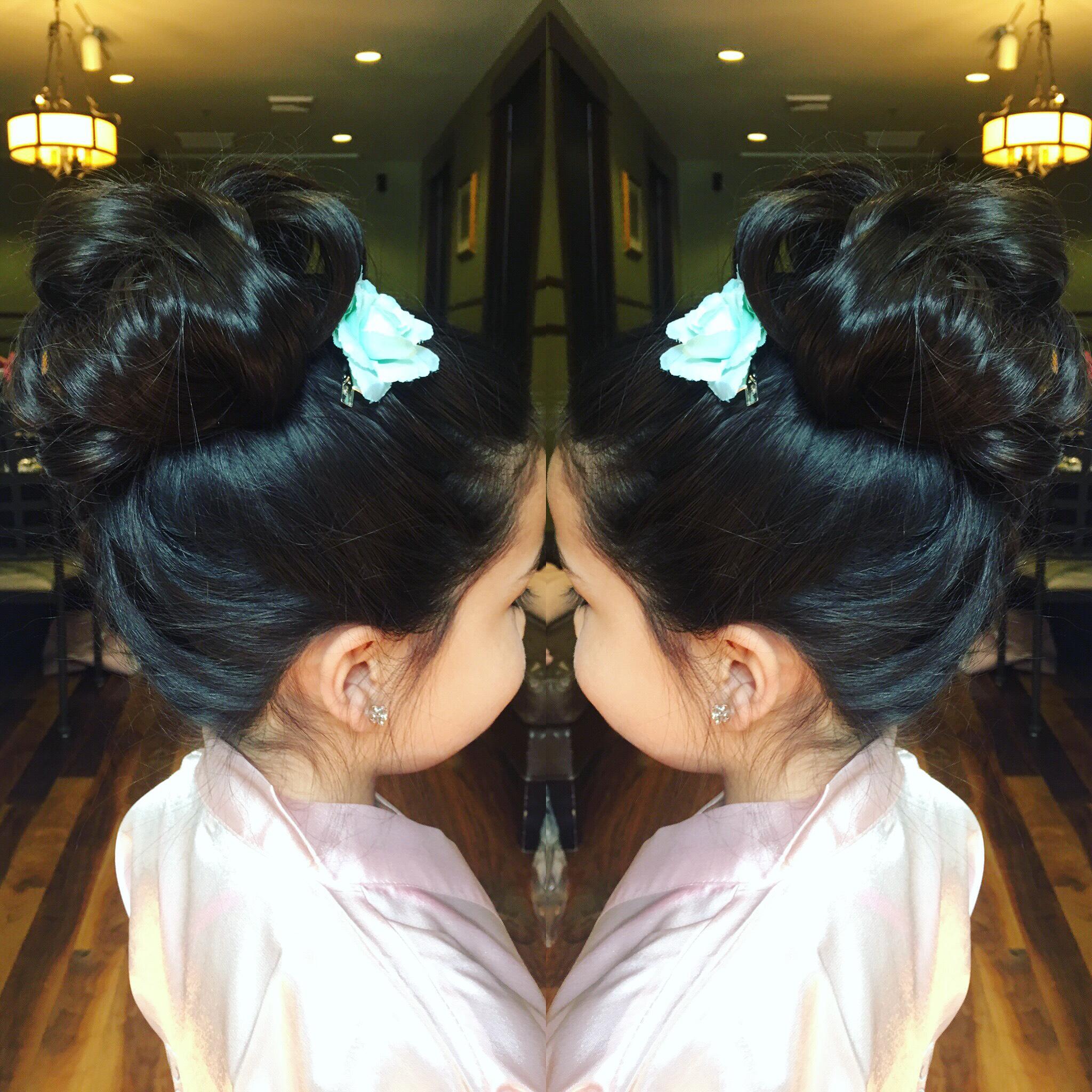 Denver-wedding-hairstylist-flower-girl-hair