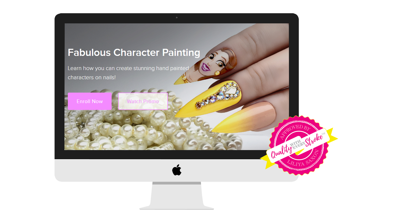 Fabulous Character Painting with Magic Gel System and Liliya Saxon ...