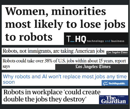 Recent headlines from the Future of Work topic created by Media Cloud