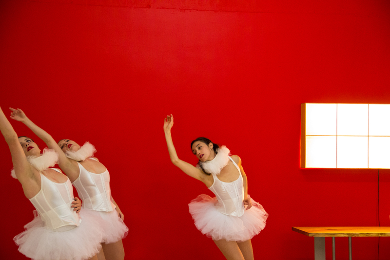 Four Questionswith Strange & Elegant'sHolly Rothschild - Accompanied by photography of Holly's dancers at the 1025 N. McCadden Place Opening.
